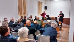 Sala proiezioni (Foto by Maria Teresa)