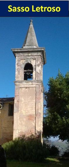 Il campanile di Sasso Letroso (DIC/2014)